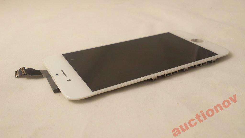 """Дисплей і сенсорне скло Iphone 6 4.7"""" white"""