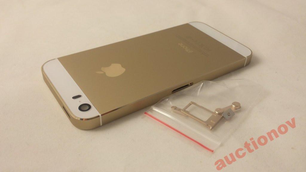 Корпус Apple iPhone 5S Gold