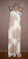Шикарное шифоновое макси платье NEXT №15