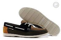 Мокасины ( низкие , спортивные ) Lacoste - Brown Dark Brown (коричневый \ тёмно-коричневый \ серый)