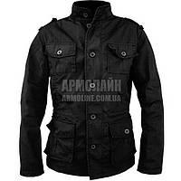 """Куртка милитари """"KILBORN"""" BLACK"""