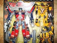 Робот Трансформер Оптимус Прайм и Бамблби! 28 см!