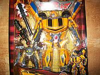 Робот Трансформер Большой Бамблби и робот! 33 см!