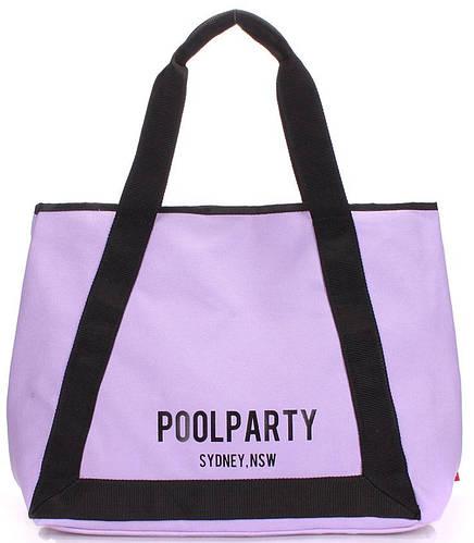 Великолепная сиреневая женская сумка POOLPARTY laguna-lilac