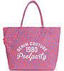 Насыщенная розовая женская сумка POOLPARTY paradise-leo