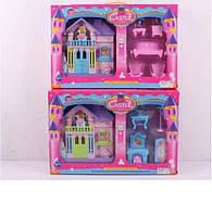 """Детский игровой набор для девочки """"Замок с мебелью"""" WD-912A/B"""
