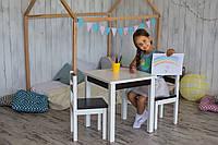 Деревянный столик и 2 стульчика. От производителя.