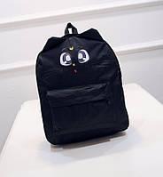Милый аниме рюкзак с мордочкой и ушками котика