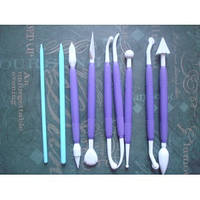 Инструмент для мастики 9 шт.