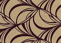 Мебельная ткань Маура беж (флок на ткани производства Мебтекс)
