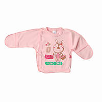 Распашонка для девочки Minikin 15203 розовая