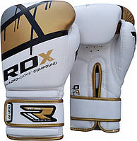 Боксерские перчатки,для бокса RDX Rex Leather Gold