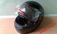 Шлем Мото Новый черный