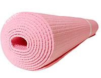 Коврик (каремат) для йоги и фитнеса 173*61*0,3см