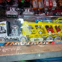 Детский трейлер с машинками для мальчика 3315.