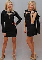 Платье с молнией и болеро, р-ры от 42 до 50
