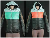 Куртка на синтепоне тёплая, разные размеры