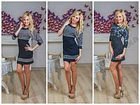 Платье французкий трикотаж, разные размеры и цвета