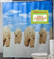"Шторка для ванной комнаты ""Polar"", Miranda. Производство Турция"