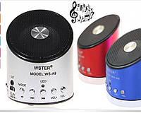 Портативная колонкаSPS WS A9(USB+micrоSD+радио), музыкальная колонка для смартфона/ноутбука/планшета