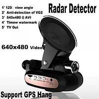 Автомобильный Видео регистратор + радар детектор +