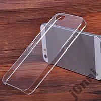 Чехол для iPhone 5/5s прозрачный + Пленка