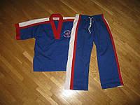 Кимоно KARATE, СИНЕЕ для боевых искусств, 160