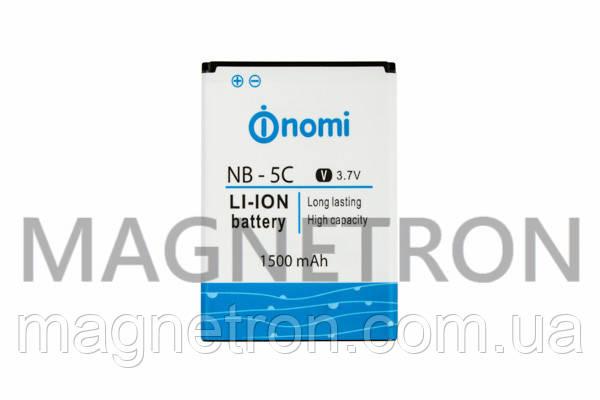 Аккумуляторная батарея NB-5C/300 Li-ion 1500mAh для телефонов Nomi i300, фото 2