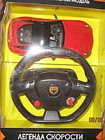 Гоночная машина с рулем пультом на аккамуляторе
