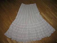 Юбка RESERVED хлопок+лен, в поясе 39-42 см