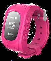 Детские умные часы с OLED экраном оригинал с GPS Smart Baby Watch Q50 настройка в подарок
