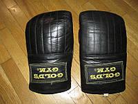 Боксерские перчатки КОЖАНЫЕ, GOLD'S GYM, XL