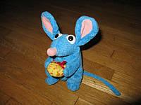 Мышка с подарком, мягкая игрушка STAR BEAN