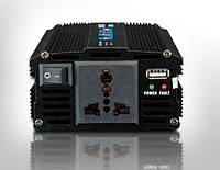Инвертор с зарядным устройством 2в1 UKC 1000W