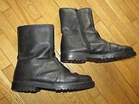 Сапоги кожаные GERMANIA HAMBURG, МЕХ, 25,5 см