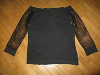 Блузка в СЕТКУ, 100% хлопок, размер L (Чехия)