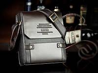 Качественная мужская сумка ZEFER. Бизнес сумка. Деловой стиль. Классический черный цвет. Купить. Код:КДН653