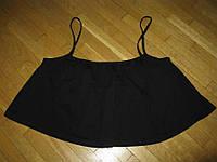 Блузка хлопок + эластин, размер М-L (ПОГ 46 см)