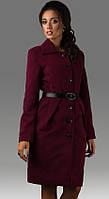 Пальто женское пуговицы, фото 1