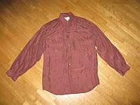 Рубашка BURTON 100% шелк, М