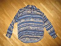Рубашка NICK TAYLOR 100% вискоза, L