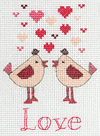 Набор для вышивания Anchor  PCE770 Valentines/ Валентинки