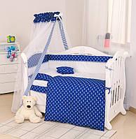 Постельный набор в кроватку детскую Twins Premium Sailor