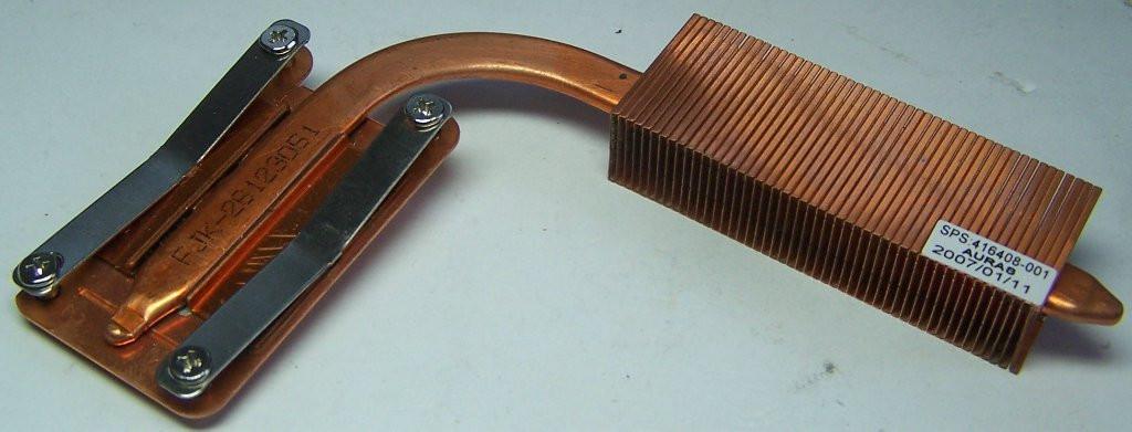 Радиатор 416408-001 HP Compaq NC8430 KPI7217