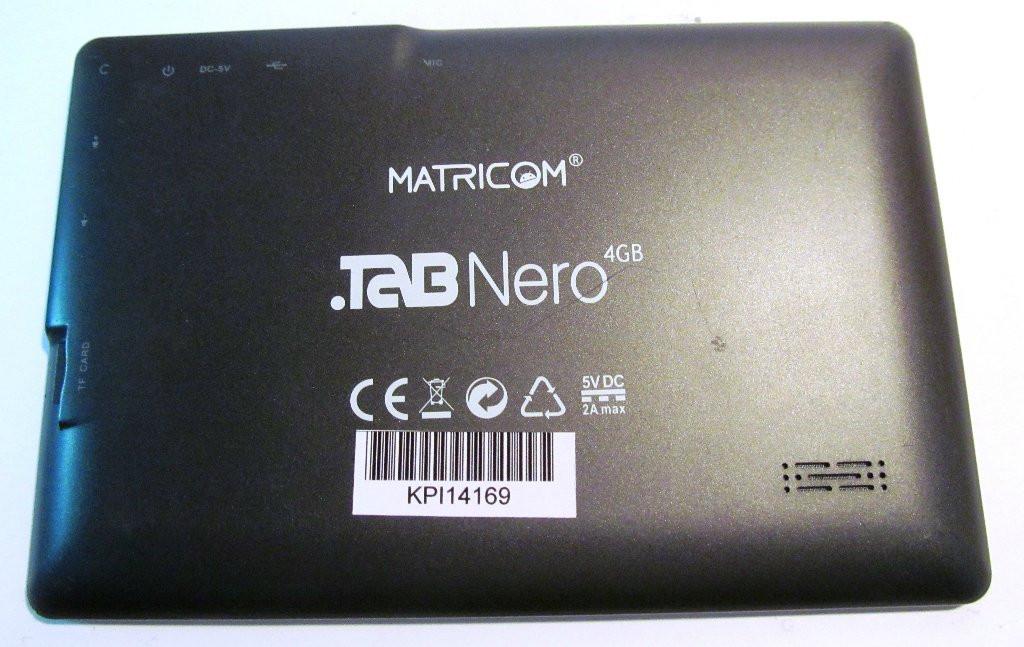 Корпус планшета .TAB Nero Matricom КРІ14169