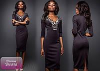 """Элегантное платье """"Виола"""". Перфорация на груди добавит пикантности и сексуальности образу РАЗНЫЕ ЦВЕТА!"""