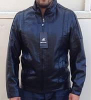Мужская куртка кожзам Casual