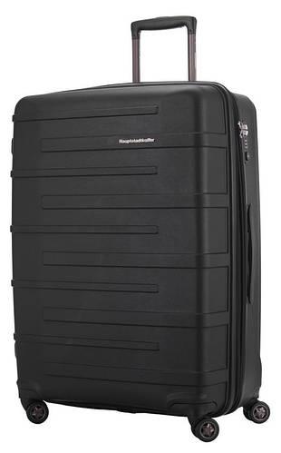Черный 4-колесный чемодан-гигант 126 л. HAUPTSTADTKOFFER Ostkreuz maxi black