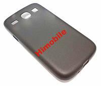 Пластиковый чехол Samsung i8262 Galaxy Core черный
