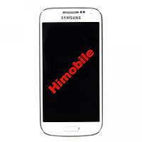 Дисплей с тачскрином для Samsung i9195 белый